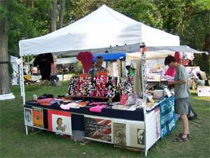 BNP Literature Booth